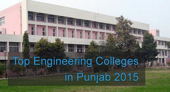Top Engineering Colleges in Punjab 2015