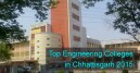 top engineering colleges in Chhattisgarh 2015