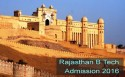 Rajasthan B.Tech Admission 2016