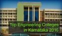 Top Engineering Colleges in Karnataka 2016
