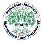 Maharishi University of Management and Technology, Bilaspur