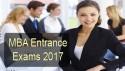 MBA Entrance Exams 2017