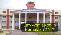 Law Admission in Karnataka 2017