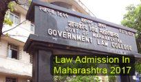 Law Admission in Maharashtra 2017