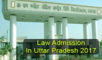 Law Admission in Uttar Pradesh 2017