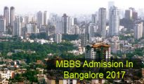 MBBS Admission in Bangalore 2017