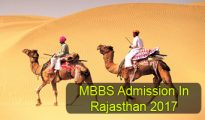 MBBS Admission in Rajasthan 2017