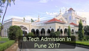 B.Tech Admission in Pune 2017