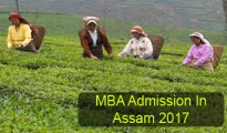 MBA Admission in Assam 2017