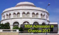 MBA Admission in Chennai 2017