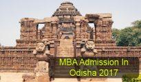 MBA Admission in Odisha 2017
