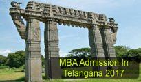 MBA Admission in Telangana 2017
