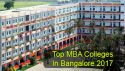 Top MBA Colleges in Bangalore 2017: List & Rating