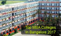 Top MBA Colleges in Bangalore 2017