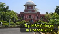 Top MBA Colleges in Chennai 2017