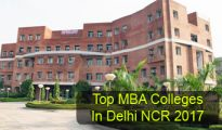Top MBA Colleges in Delhi NCR 2017