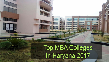 Top MBA Colleges in Haryana 2017