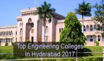 Top Engineering Colleges in Hyderabad 2017