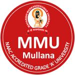 MMU Mullana Admission 2022
