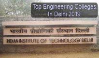 Top Engineering Colleges in Delhi 2019