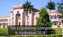 Top Engineering Colleges in Hyderabad 2018