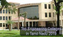 Top Engineering Colleges in Tamil Nadu 2019
