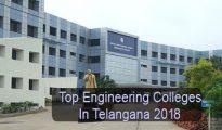 Top Engineering Colleges in Telangana 2018