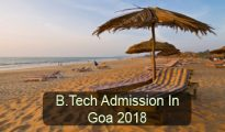 b.tech admission in goa