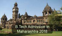 B.Tech Admission in Maharashtra 2018