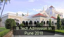 B.Tech Admission in Pune 2018