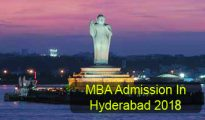 MBA Admission in Hyderabad 2018