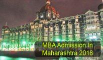 MBA Admission in Maharashtra 2018
