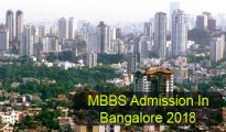 MBBS Admission in Bangalore 2018
