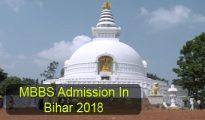 MBBS Admission in Bihar 2018