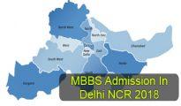 MBBS Admission in Delhi NCR 2018