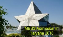 MBBS Admission in Haryana 2018