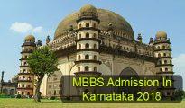 MBBS Admission in Karnataka 2018