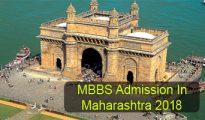 MBBS Admission in Maharashtra 2018