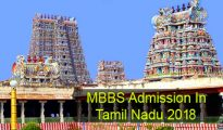 MBBS Admission in Tamil Nadu 2018