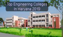 Top Engineering Colleges in Haryana 2019