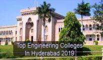 Top Engineering Colleges in Hyderabad 2019