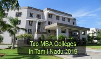 Top MBA Colleges in Tamil Nadu 2019