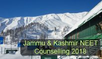 Jammu & Kashmir NEET Counselling 2018