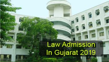 Law Admission in Gujarat 2019, Selection & Admission Procedure
