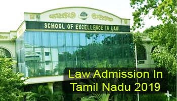 Law Admission in Tamil Nadu 2019: Exam, Dates & Selection
