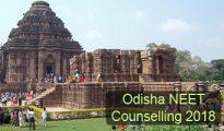 Odisha NEET Counselling 2018