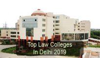 Top Law Colleges in Delhi 2019