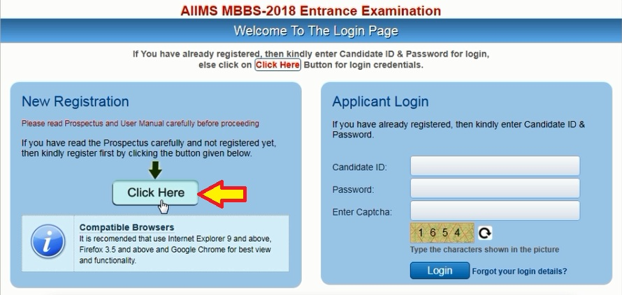 How to Fill AIIMS 2018 Application Form, Step by Step Form Filling Aiims Application Form Doents on
