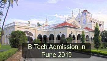 B.Tech Admission in Pune 2019