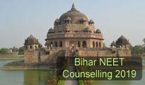 Bihar NEET Counselling 2019